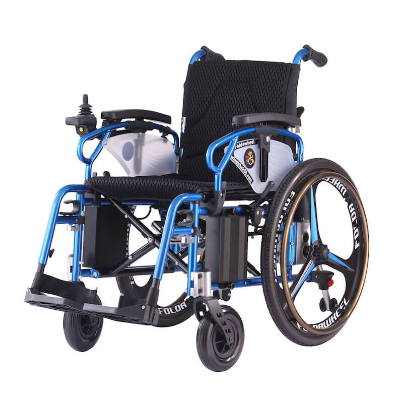 Foldawheel Pw 800ax Foldable Power Wheelchair