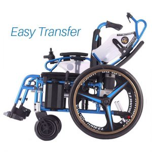 Dual function power wheelchair