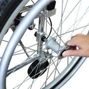 detach rear wheel