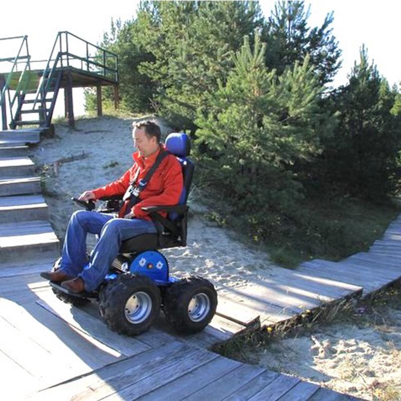 PW-4x4Q Stair Climbing Wheelchair