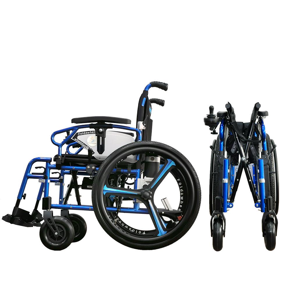 Hybrid Power Wheelchair